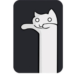 Personalised Luggage Tag - Long Cat