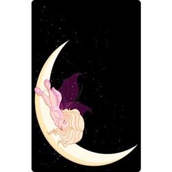 Personalised Luggage Tag - Sleeping Fairy