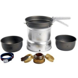 Trangia 27-7 Sml Hard Anodised Alloy Stormcooker Stove Cook Set