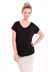 Bamboo Body Eadie Top - Black