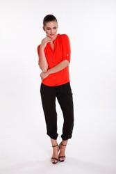 Bamboo Body Pocket Pants - Navy