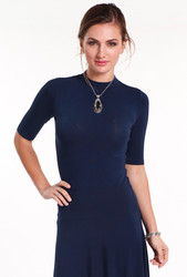 Bamboo Body Taylor Top - Black