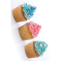 Personalised Luggage Tag - Cupcakes