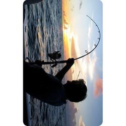 Personalised Luggage Tag - Fishing