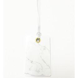 Personalised Luggage Tag - Marble