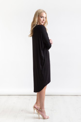 Bamboo Body Catherine Dress - Black (EC171-Black)