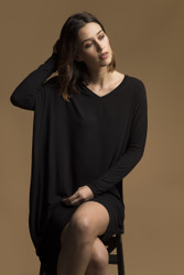 Bamboo Body Catherine Dress - Black