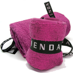 Menda Ultimate Travel and Sports Towel Set: Magenta Pink