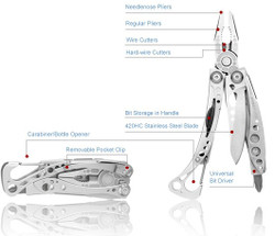 Leatherman Skeletool Multi-Tool - Nylon Sheath