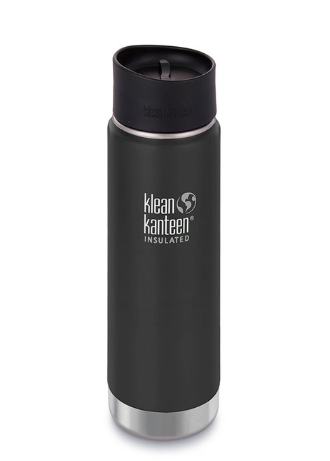 Klean Kanteen - Insulated Wide Mouth - 20 oz 592ml - Shale Black