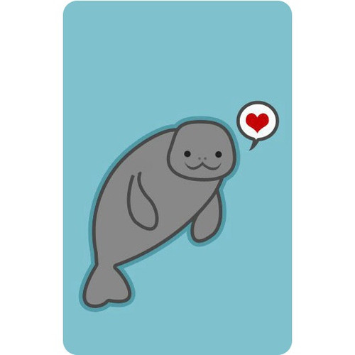 Personalised Luggage Tag - Love Seal