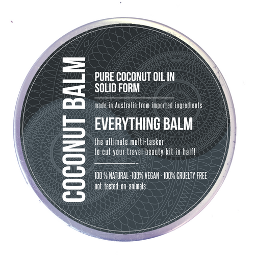 Solid Coconut Oil / Balm - front