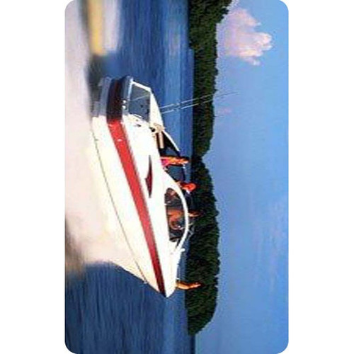 Personalised Luggage Tag - Speed Boat