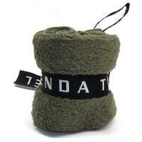 Menda Ultimate Travel and Sports Towel: Original Size Khaki Green