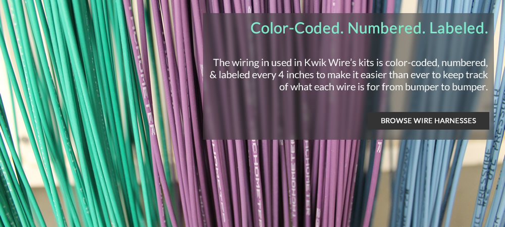 Kwik Wire - Color-Coded, Numbered and Labeled Wire