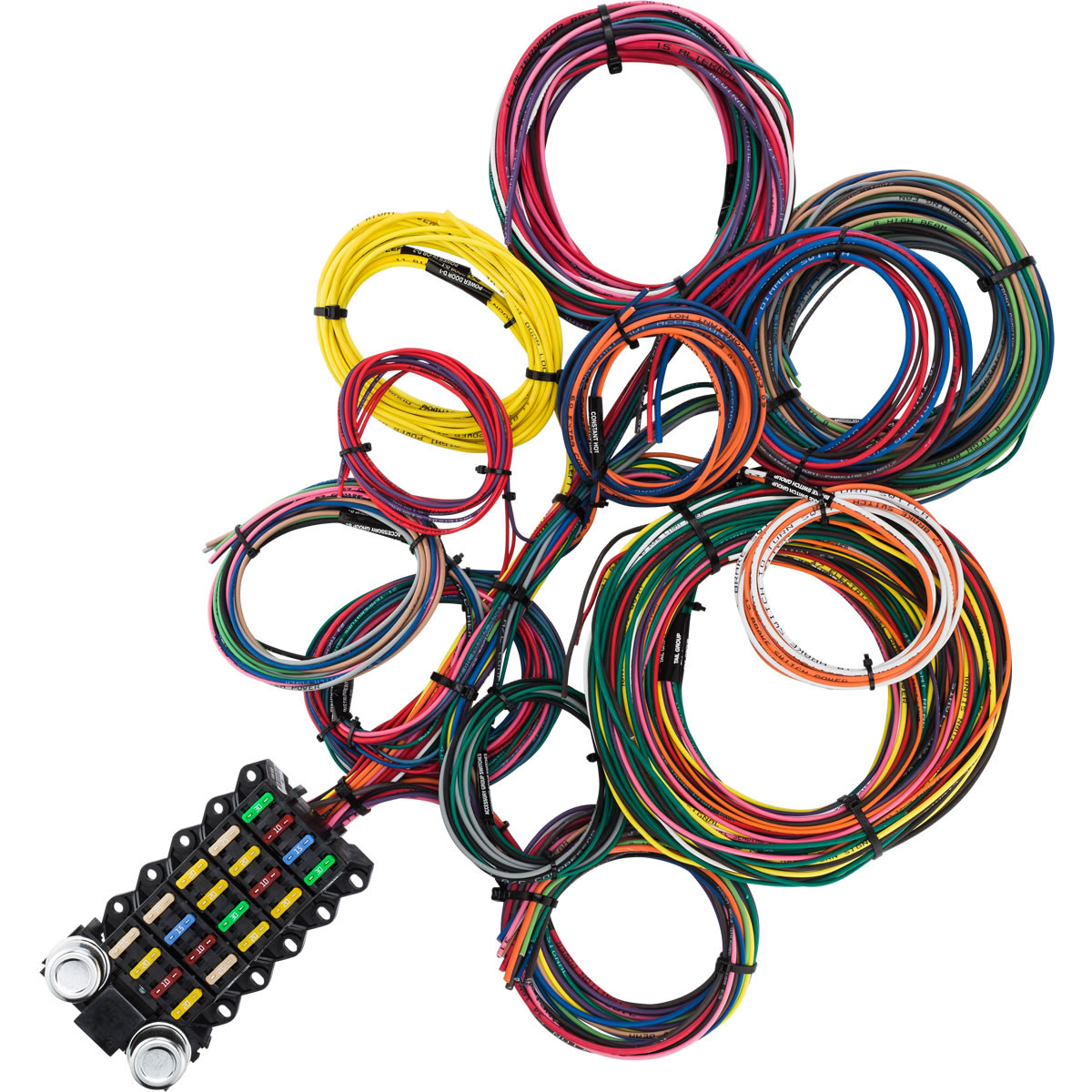 22 Circuit Budget Wire Harness