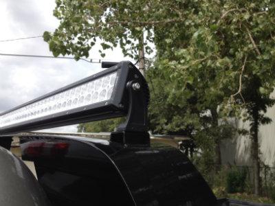 """52"""" LED Offroad Light Bar Option"""