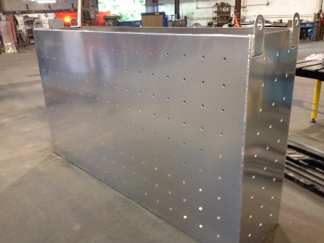 Custom Aluminum Bait Box