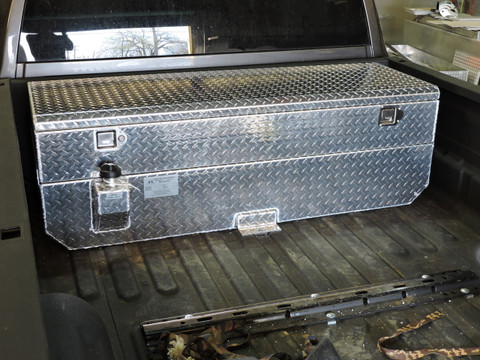 50 Gallon Auxiliary Diesel Tank And Toolbox Combination