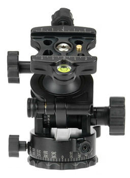 Video Ballhead with Knob Clamp. Shown without the handle.