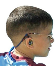 Our SafeNSound Clipz™ attach to glasses and/or hearing device and then directly to the wearer's clothing. Because of our unique design all of our products can be worn with glasses or hearing devices alone or both simultaneously without modification!