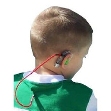 Our SafeNSound Single Clipz™ are perfect for those who wear only one BTE hearing instrument and want to keep is secure by attaching it to the wearer's clothing.