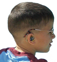 Our SafeNSound Duo™ attaches a BTE hearing instrument and glasses without the strap portion. This product is excellent for those who wish to keep both items snug and secure without the adjustable strap.