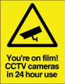 You're on film! CCTV