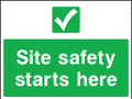 Site safety starts here.