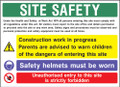 Site safety 5 Construction Sign