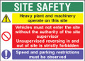 Site safety 6 Construction Sign