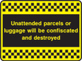 Unattended parcels or luggage...