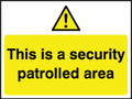 This area is security patrolled area