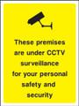 These premises are under CCTV surveillance.