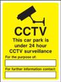 CCTV This car park...