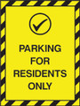 Parking for residents only
