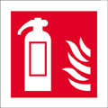 Fire Extinguisher Logo Safety Sign