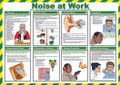 Noise at Work Safety Poster