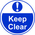 Keep clear Anti-slip