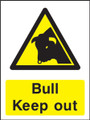 Bull keep out