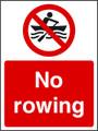 No rowing