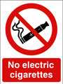 No electric ciggarettes