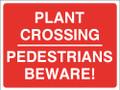 Plant Crossing Pedestrians Beware
