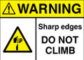 Warning Sharp Edges do Not Climb