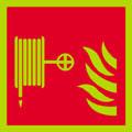 Fire hose reel logo, nite-glo