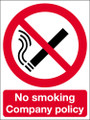 No smoking company policy