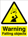 Warning falling objects