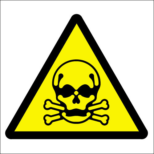 Toxic symbol - Signs 2 Safety