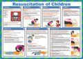Resuscitation of Children safety poster