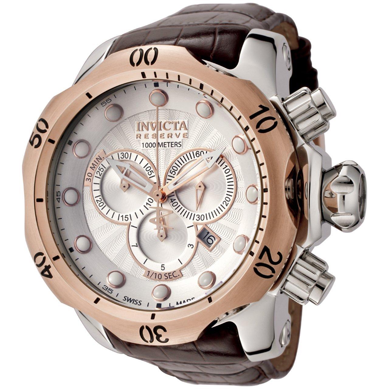 invicta 0359 reserve venom collection chronograph brown